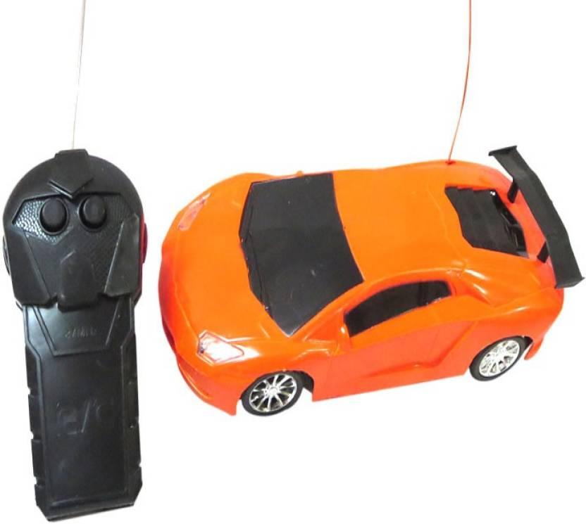 DCS Modern Team Sports Car(Remote Control,Orange) - Modern