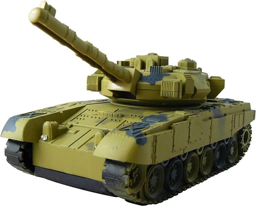 22b2816f3d8f55 Shridhar Remote Control Army Tank with Light   Sound - Remote ...