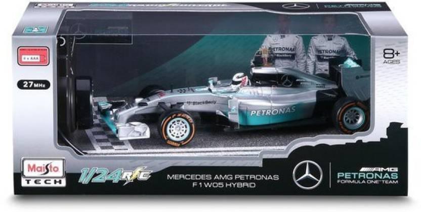 Maisto Mercedes Amg Petronas F1 W05 Hybrid 1 24 Rc Car Mercedes
