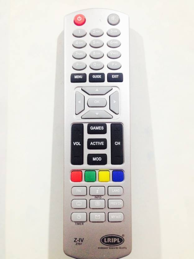Lripl Dish Dth Remote Remote Controller - Lripl : Flipkart com