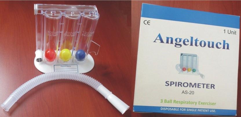 Tri-Ball Lung Excerciser Respiratory Exerciser