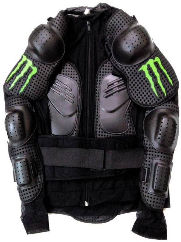 c5ac79dc3df Monster M2XXL-Riding Gear Body Armor For Bike- Black -Size - XL Riding  Protective Jacket (Black
