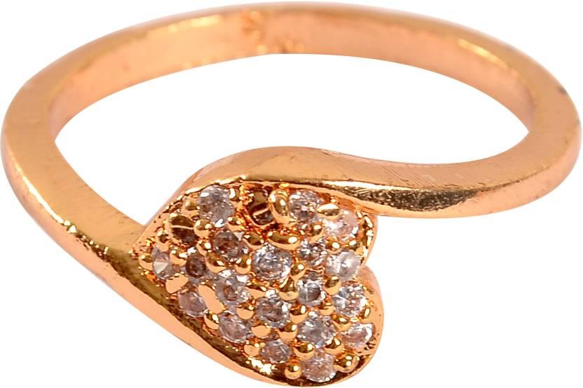 Inka Yellow Gold Quartz Ring Price In India Buy Inka Yellow Gold