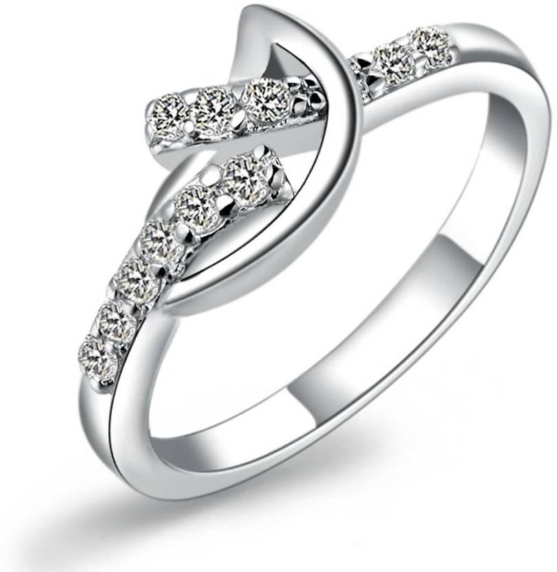 Kiara Jewellery Twist Fun Sterling Silver Ring