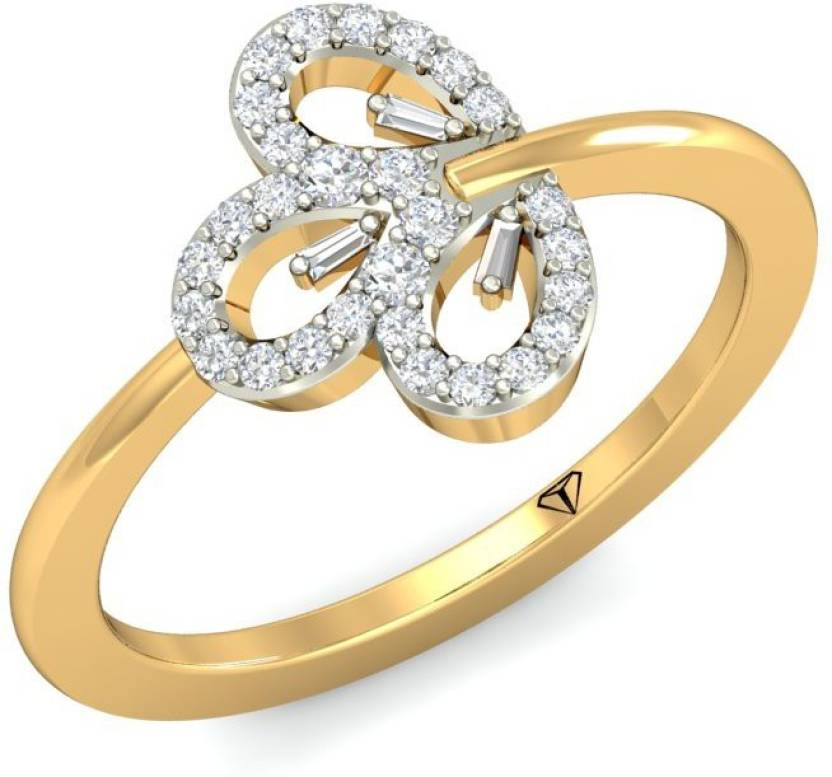 ff9777055f4d9 WearYourShine by PC Jewellers The Lanvine 18kt Diamond Yellow Gold ...