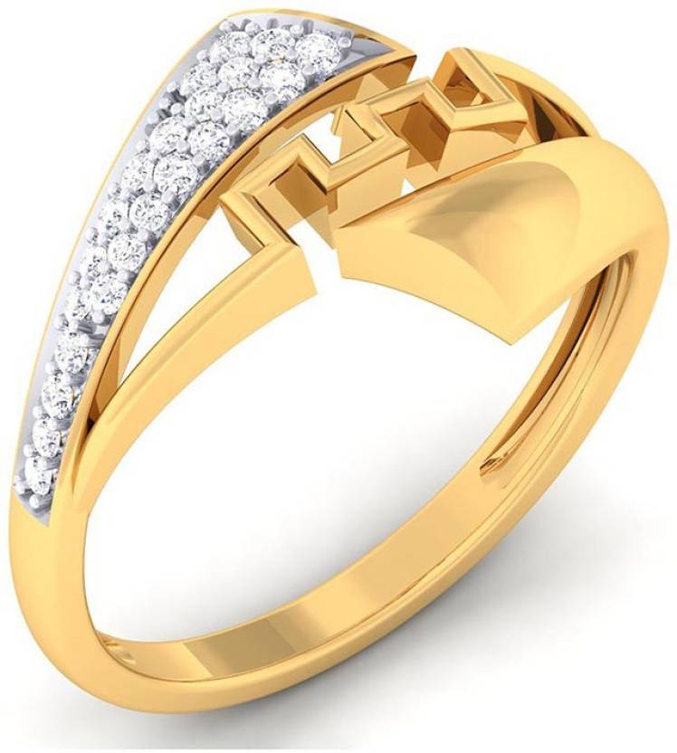 f65ddd3e577c0 WearYourShine by PC Jewellers The Reasha 18kt Diamond Yellow Gold ...