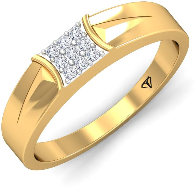 6046167f733d0 WearYourShine by PC Jewellers The Enerik 18kt Diamond Yellow Gold ...