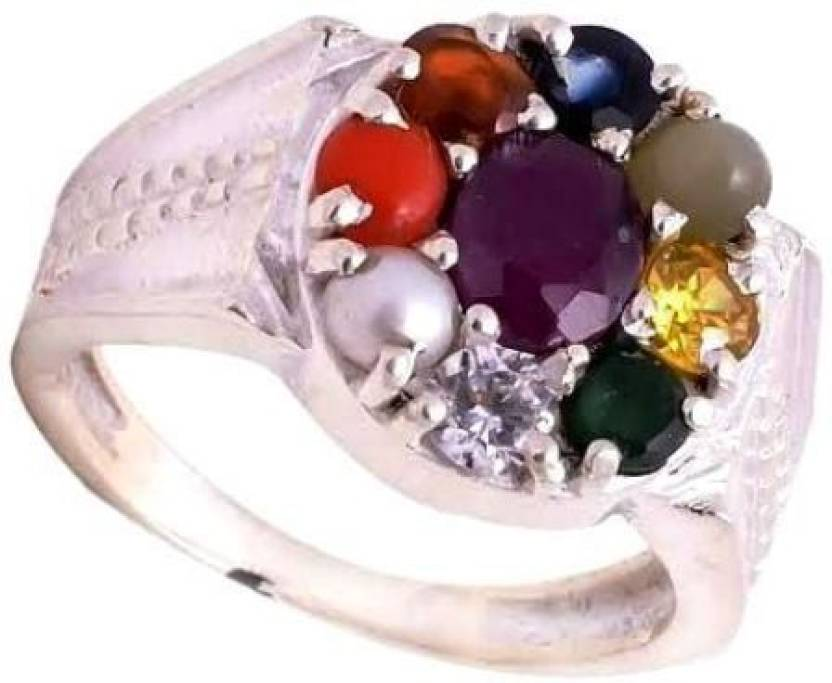 Jaipur Gems And Handicrafts Silver Pearl Silver Plated Ring Price In