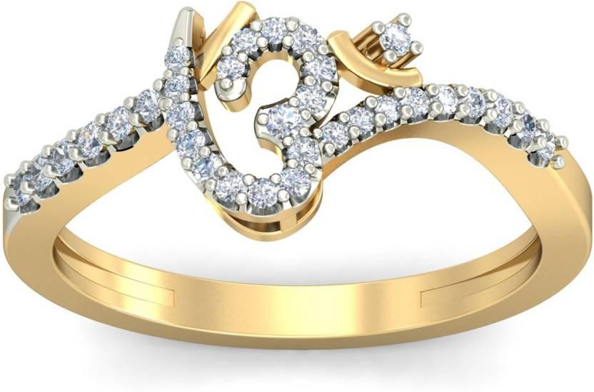 PC Jeweller The Omyra Gold Diamond Ring Price in India Buy PC