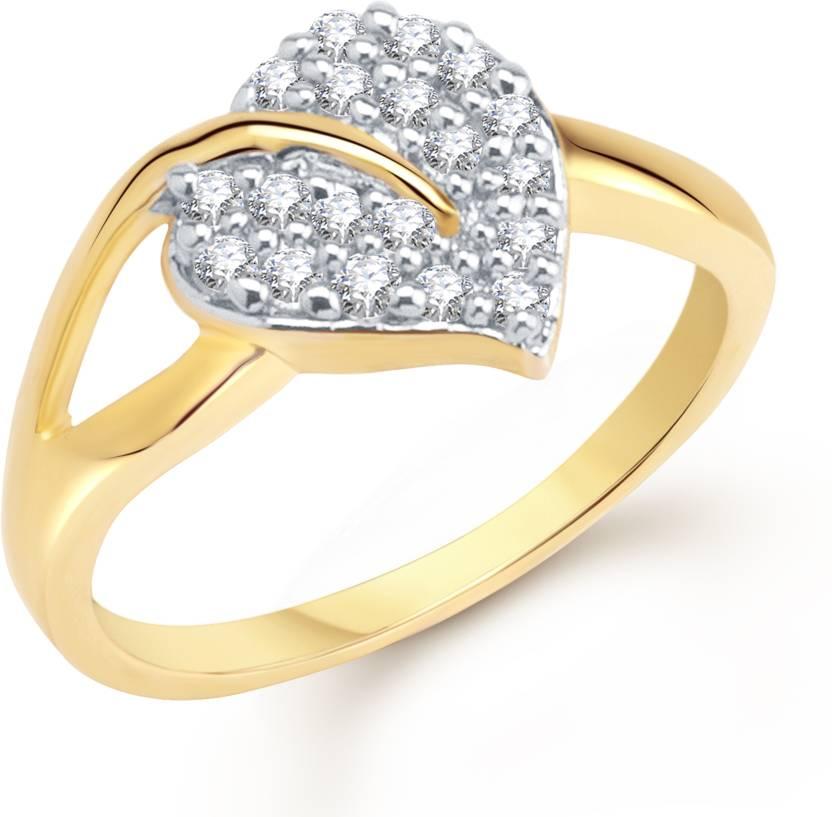 Meenaz Alloy Cubic Zirconia Ring Price in India Buy Meenaz Alloy
