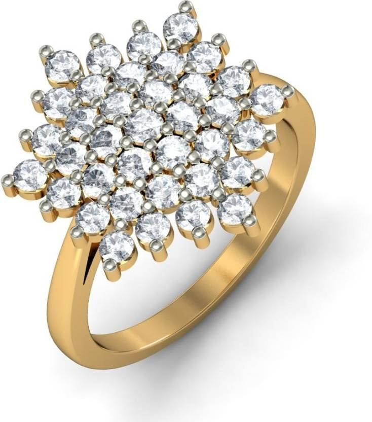 BlueStone The Venus 18kt Diamond Yellow Gold ring