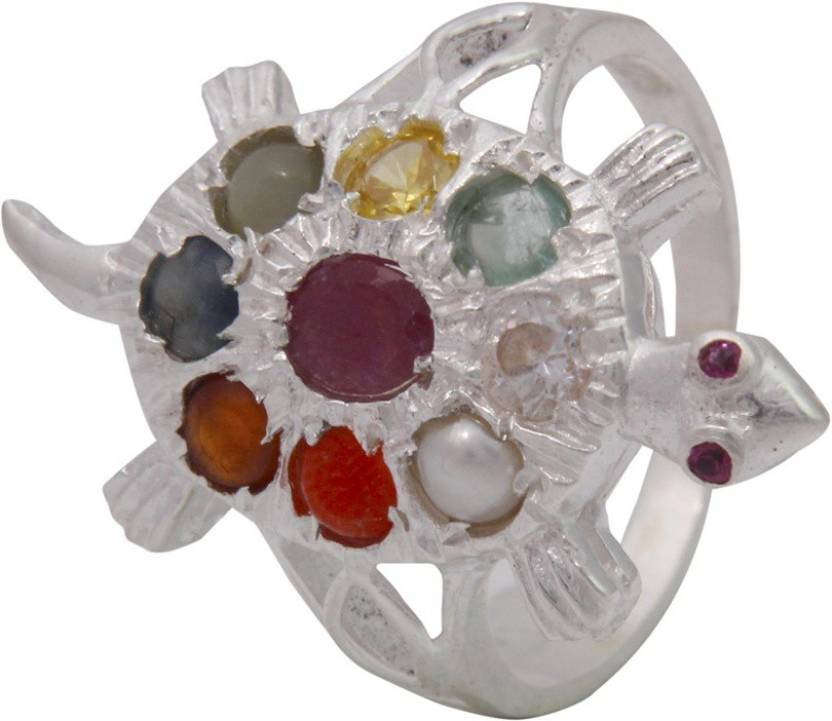 nine size gemstone sterling tortoise kachua jaipurgemsandhandicrafts handicrafts gemstones free p jaipur original navgrah ring gems silver and planet navratan