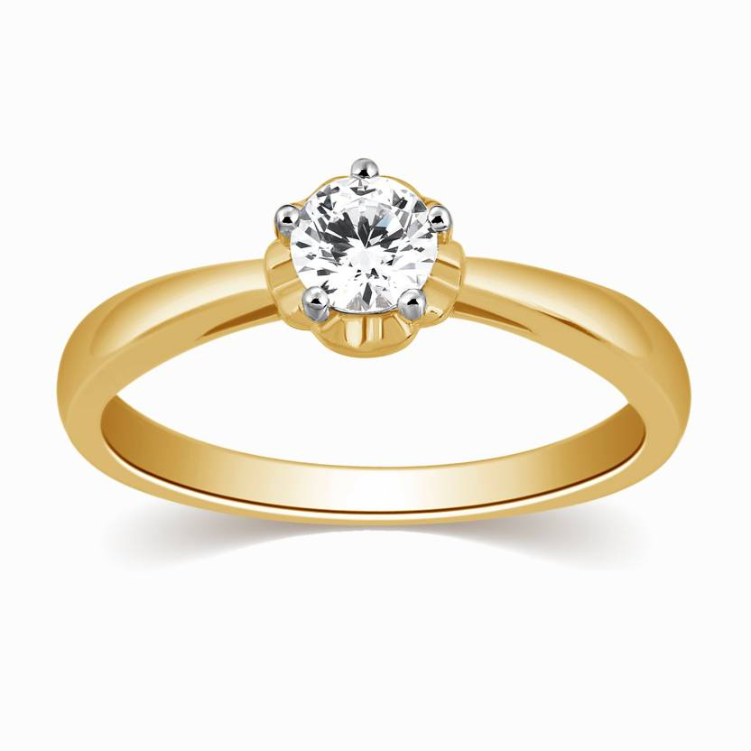 Jewellery Siria Diamond Ring Yellow Gold