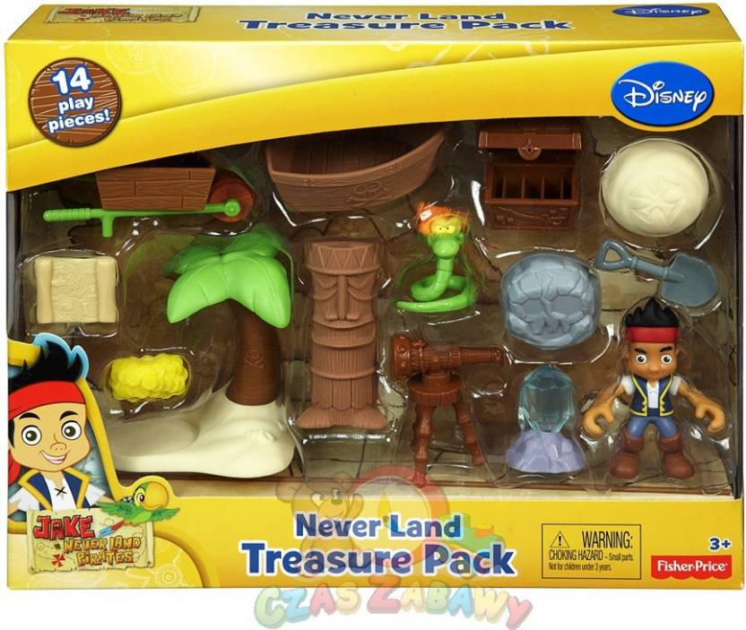 Fisher-Price Jake and the Never Land Pirates - Neverland Treasure ...