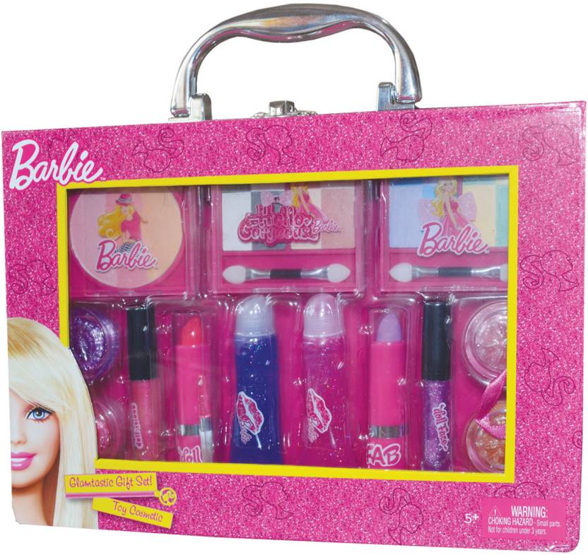 Barbie Make-up Kit - Box Case - Toy Cosmetic