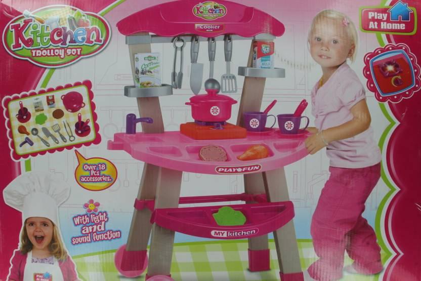 Hamleys Kitchen Trolley Set Kitchen Trolley Set Shop For Hamleys