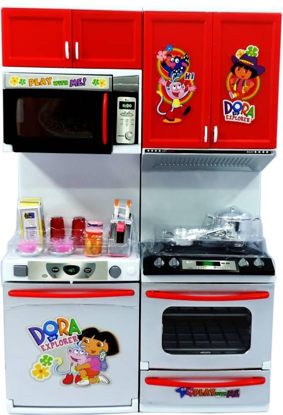 Dora Kitchen Set Flipkart