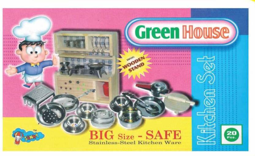 Sunny Green House Kitchen Set Green House Kitchen Set Shop For