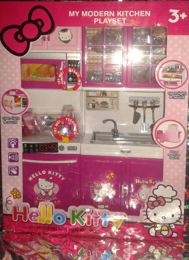 Toy Corner Hello Kitty Kitchen Set Hello Kitty Kitchen Set Buy