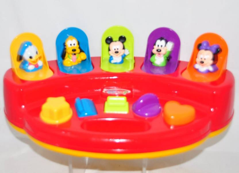 Disney Mickey Mouse Pop-Up Popup Pop Up Pals Activity Toy - Mickey ...