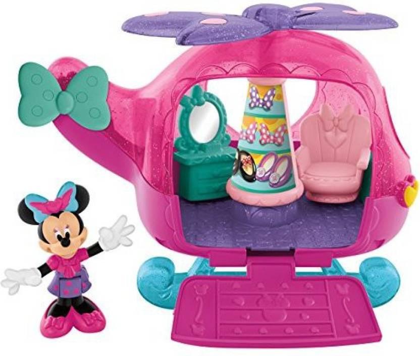0b8f7da923774 Fisher-Price Disney Minnie Mouse Flyin' Style Helicopter - Disney Minnie  Mouse Flyin' Style Helicopter . shop for Fisher-Price products in India.