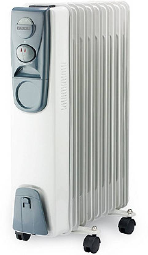Usha OFR 3209(White) Oil Filled Room Heater