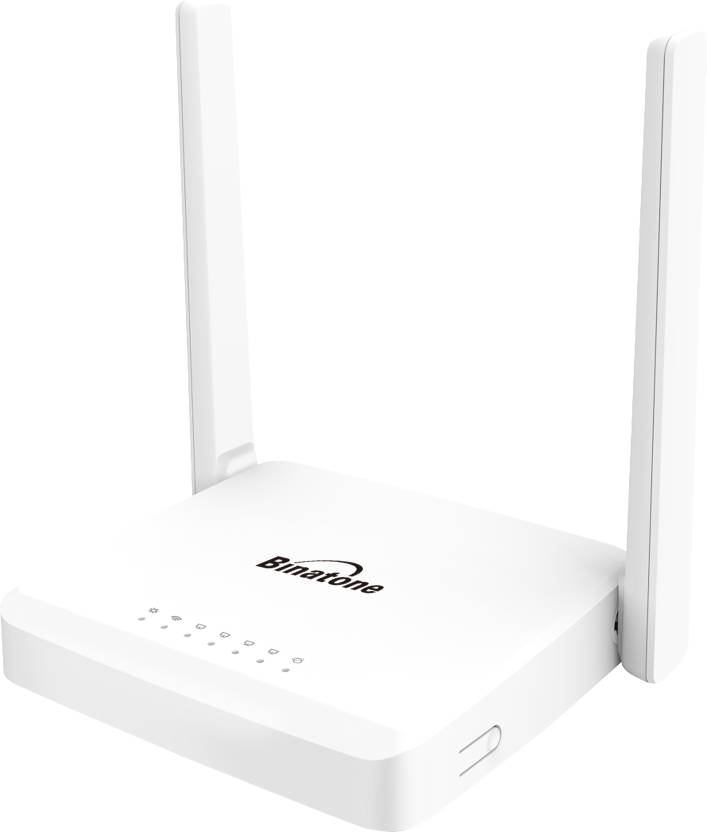 Electronic Accessories!! Great Offer!! Upto 60% On Routers By Flipkart | Binatone WR3005N3 300 Mbps Wireless N Router Router  (White) @ Rs.998