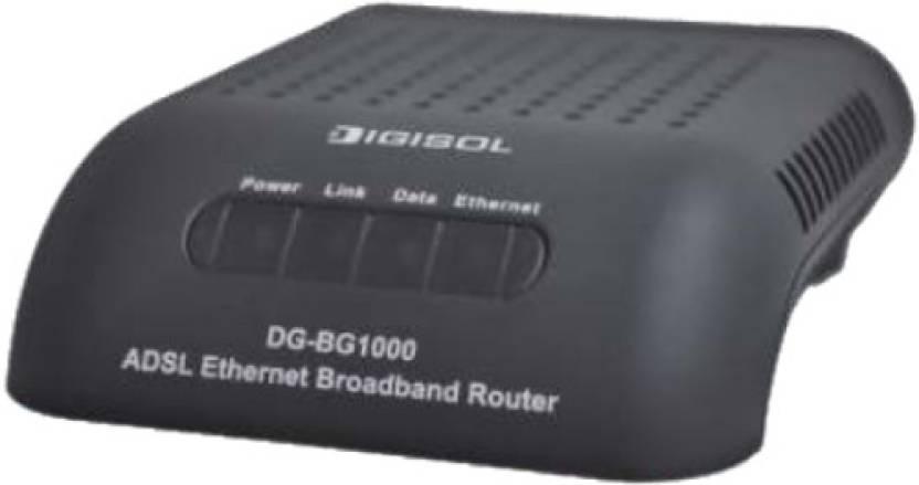 Digisol ADSL2/2 Single Port Ethernet Broadband Router