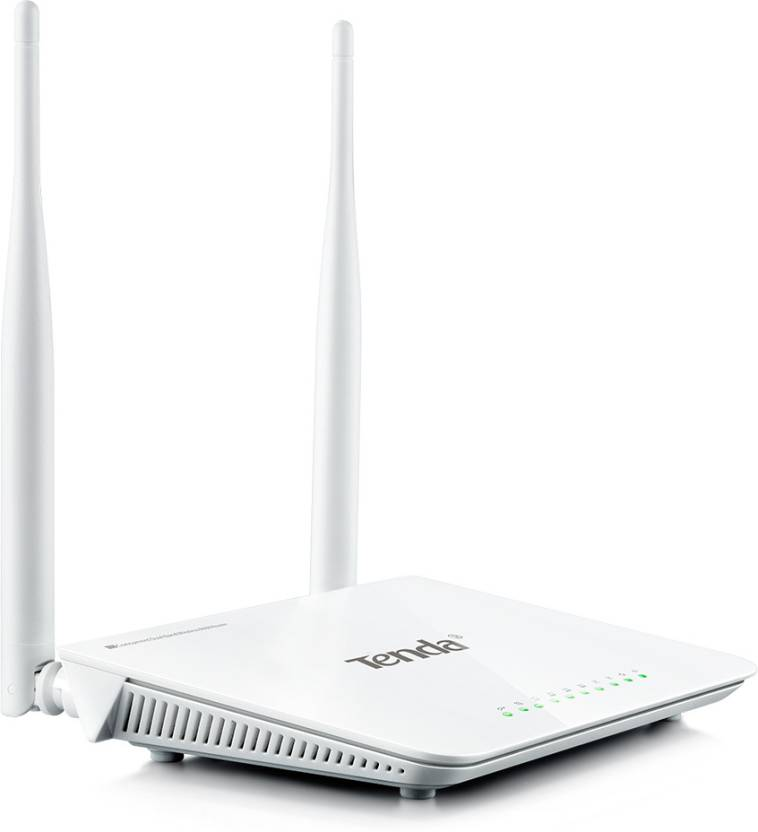 Tenda N60 600 Mbps Wireless without Modem Router (White)