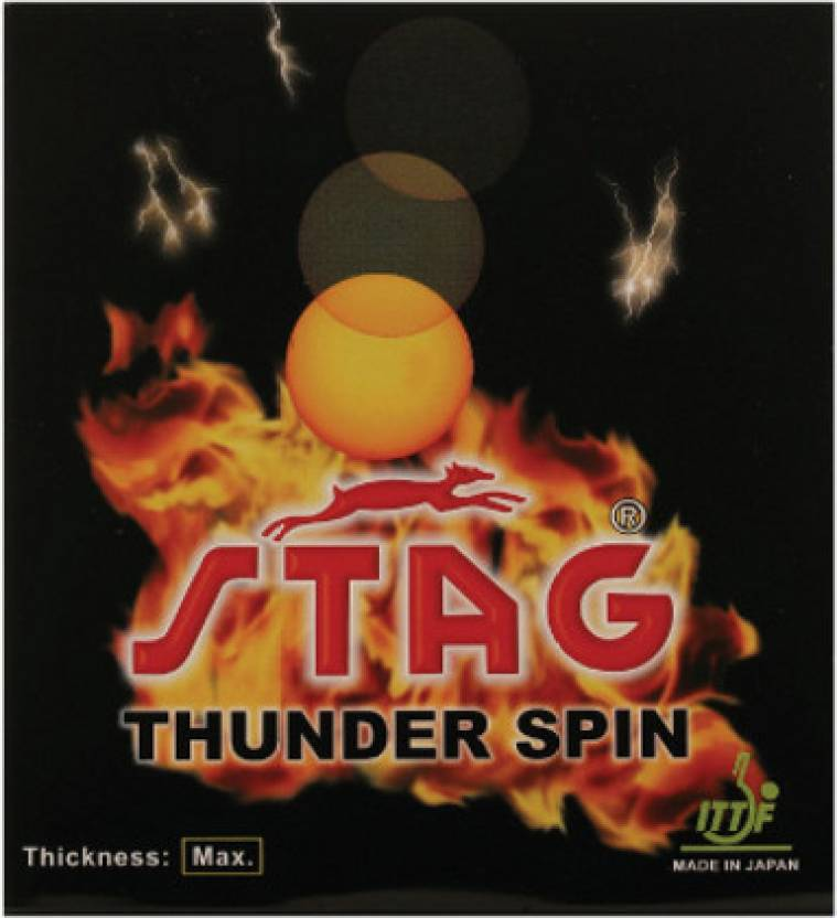 2e3a15e32 Stag Thunder Spin 1.8 mm Table Tennis Rubber - Buy Stag Thunder Spin 1.8 mm  Table Tennis Rubber Online at Best Prices in India - Table Tennis
