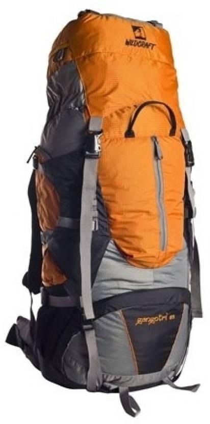 wildcraft gangotri rucksack 65 l orange price in india