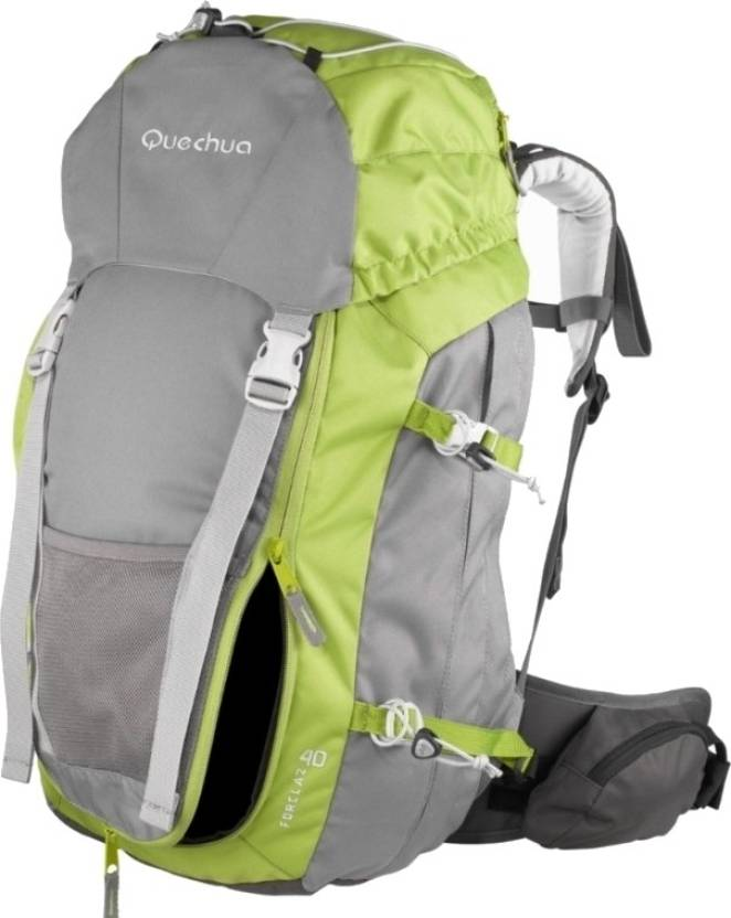 475c43d0d5 Quechua Forclaz 40 Rucksack - 40 L Green and Grey - Price in India ...