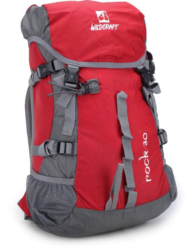 wildcraft rock rucksack 30 l red price in india