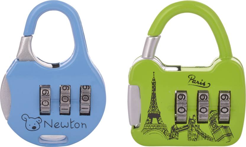 ez life bag number locks safety lock multicolor price in india