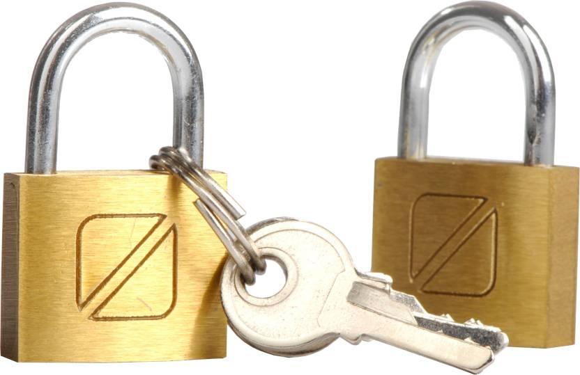 Travel Blue 2X Pad Lock 20 mm
