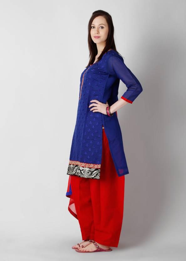ANAHI Embroidered Kurta & Salwar