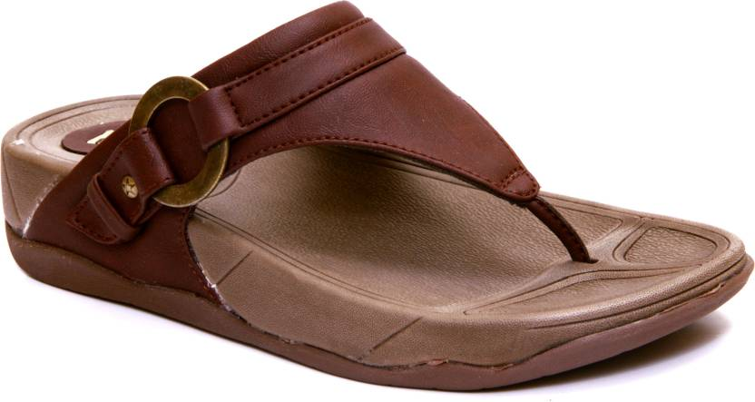 9f6673e9046f Fuzion Women Brown Flats - Buy Brown Color Fuzion Women Brown Flats Online  at Best Price - Shop Online for Footwears in India
