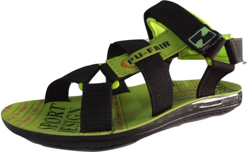 9806b6a66532 Pu Fair Men Green Sports Sandals - Buy Green Color Pu Fair Men Green Sports  Sandals Online at Best Price - Shop Online for Footwears in India