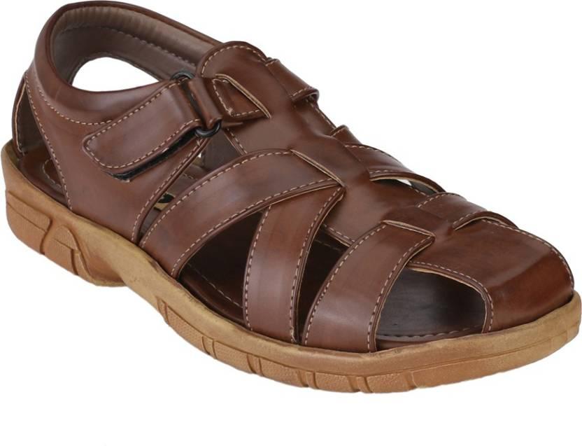 809ff92243df Afrojack Men Brown Sandals - Buy Brown Color Afrojack Men Brown Sandals  Online at Best Price - Shop Online for Footwears in India