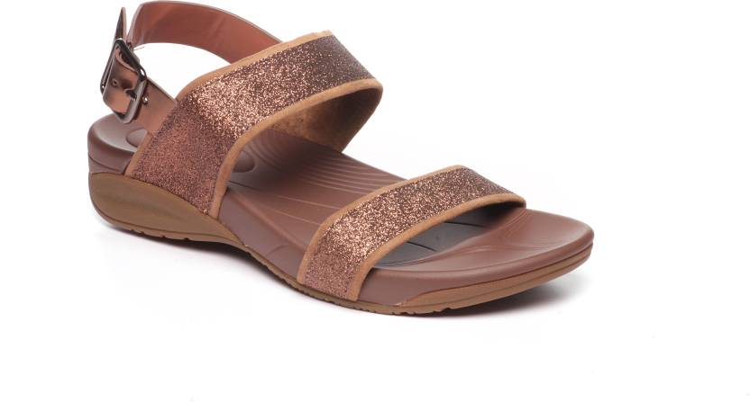 Pavers England Women BROWN Sports Sandals