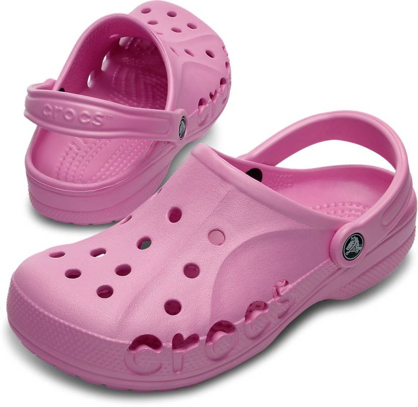 ae3c91b3d2b8 Crocs Women Pink Clogs - Buy 10126-6I2 Color Crocs Women Pink Clogs Online  at Best Price - Shop Online for Footwears in India