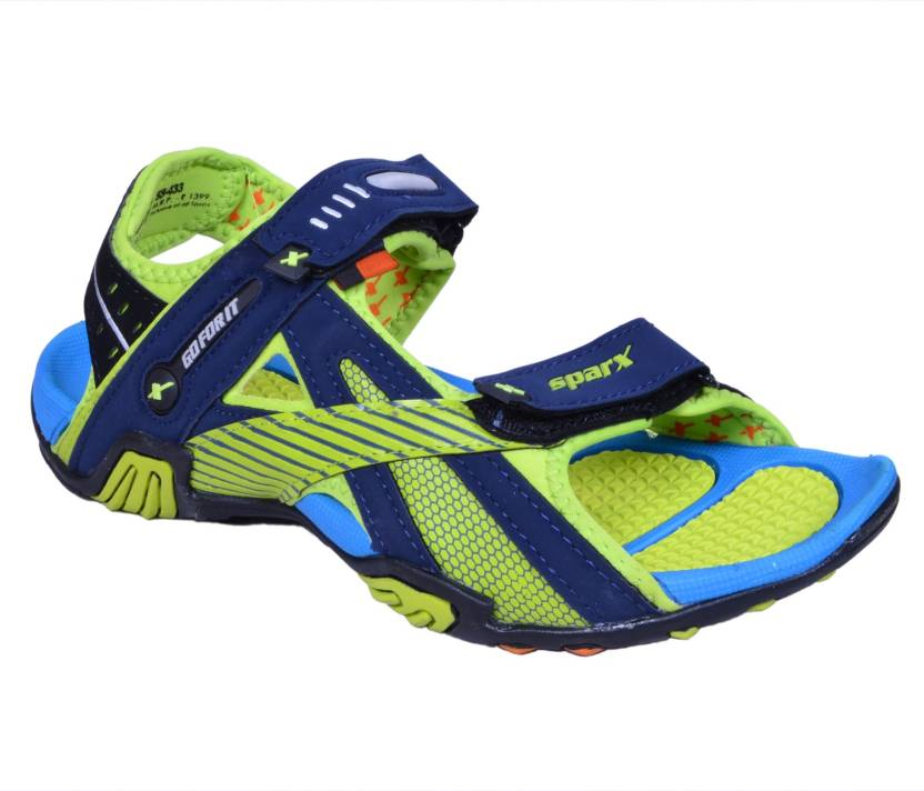 eadf8303f81f5e Sparx Men Blue Green Sandals - Buy Blue Green Color Sparx Men Blue Green  Sandals Online at Best Price - Shop Online for Footwears in India