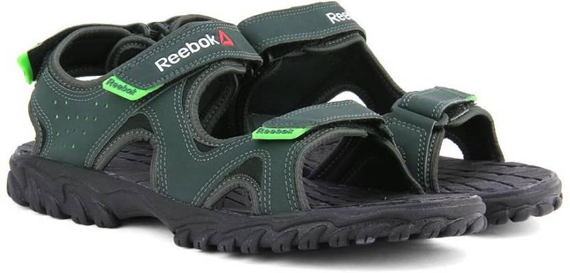 44eb394c4b2c REEBOK Men GRAVEL NEON GREEN BLK Sports Sandals - Buy GRAVEL NEON GREEN BLK  Color REEBOK Men GRAVEL NEON GREEN BLK Sports Sandals Online at Best Price  ...