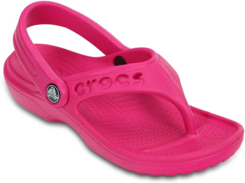 3815e89b3ef9 Crocs Girls Sports Sandals Price in India - Buy Crocs Girls Sports Sandals  online at Flipkart.com