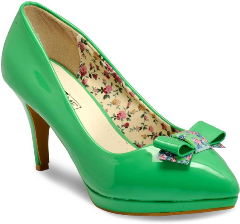 2bf4a858232 Yepme Women Green Heels - Buy Green Color Yepme Women Green Heels Online at  Best Price - Shop Online for Footwears in India