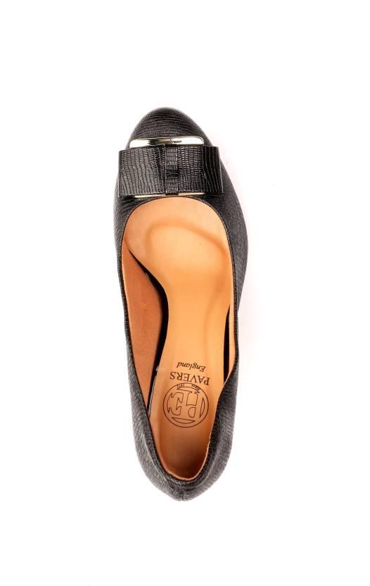 Pavers England Women BLACK Heels