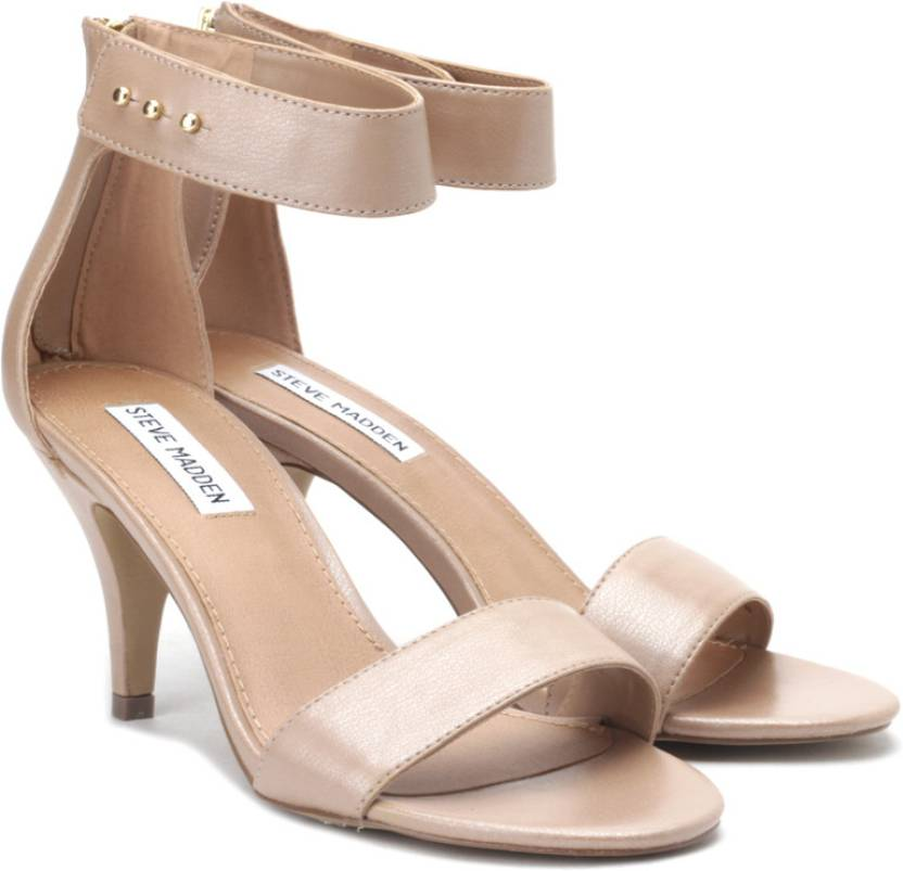 e23ec7d5e8d4 Steve Madden Women Nude Heels - Buy Nude Color Steve Madden Women Nude  Heels Online at Best Price - Shop Online for Footwears in India