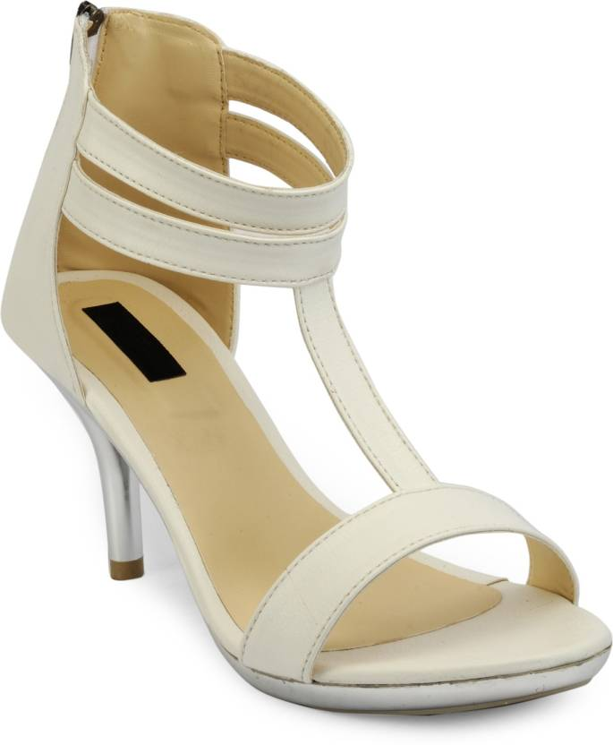 537530baf2157 Payless Women White and Beige Heels - Buy White and Beige Color Payless  Women White and Beige Heels Online at Best Price - Shop Online for  Footwears in ...