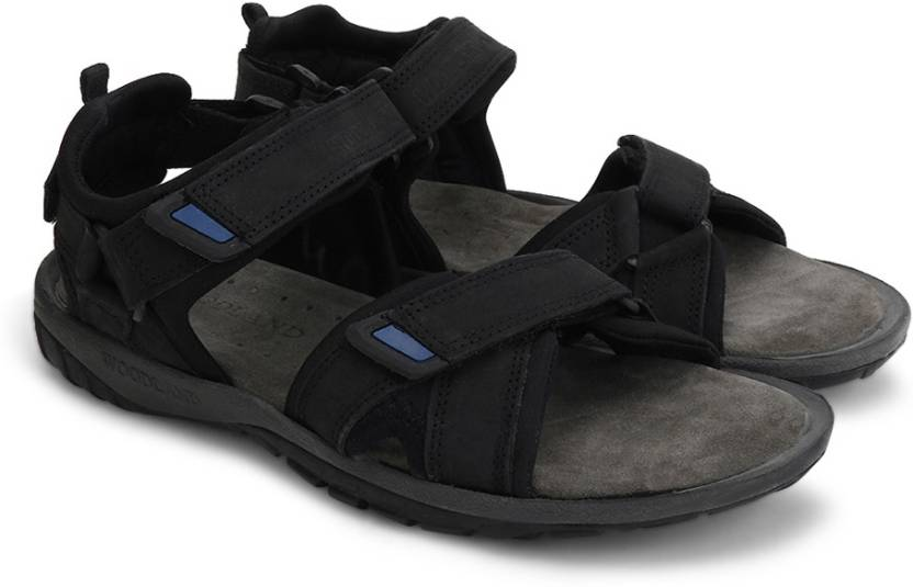 75a90788e05bcf Woodland Men BLACK Sports Sandals - Buy BLACK Color Woodland Men BLACK Sports  Sandals Online at Best Price - Shop Online for Footwears in India