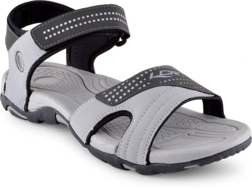 e8dda1dd4 Lancer Men Grey Sandals - Buy Grey Color Lancer Men Grey Sandals Online at Best  Price - Shop Online for Footwears in India